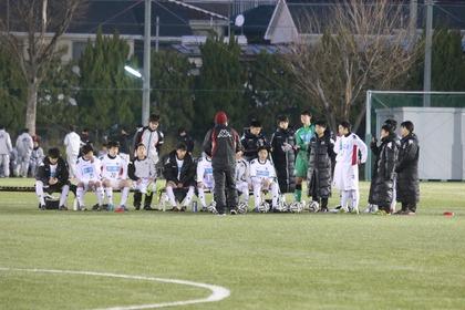 試合が始まる前の川口コーチのお話