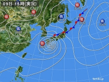 20140809 天気図