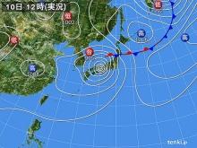 20140810 天気図