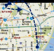 20141227 漕行程概略図