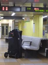 20140909 早朝の夏の東山公園駅