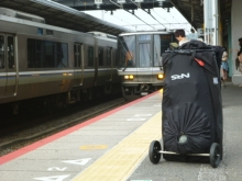 20140909 早朝の夏の名古屋駅