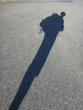 20140913 秋分間近の朝の影