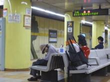 20140913 東山公園駅のおばぁちゃん