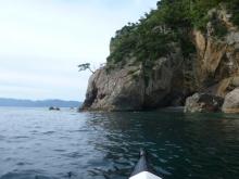 20140920 御神島の上陸ポイントを探して