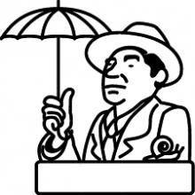 20150505 雨のかたつむりと後期中年