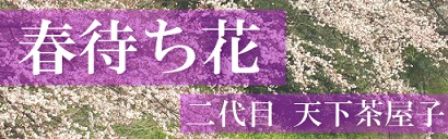 春待ち花-banner