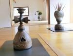 金剛杵型花器