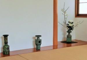 貼鋲花器 華の楼閣 華の塔