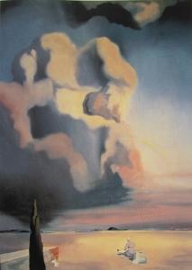 幽霊と幻影 ダリ作 1934