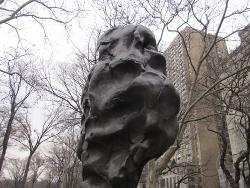 セントラルパーク東南角彫刻群(3)