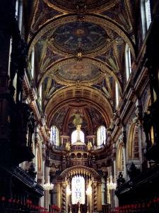 セントポール大聖堂内部