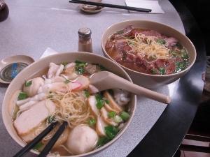 チャイナタウンで食べたラーメン