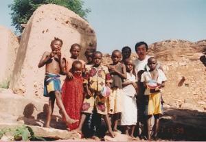 僕とマリ共和国の子供たち