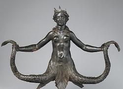 メトロポリタン美術館のセイレン像