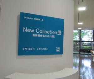 コレクション展の看板