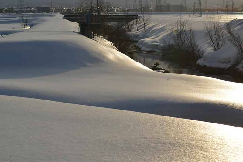 光る雪原-1
