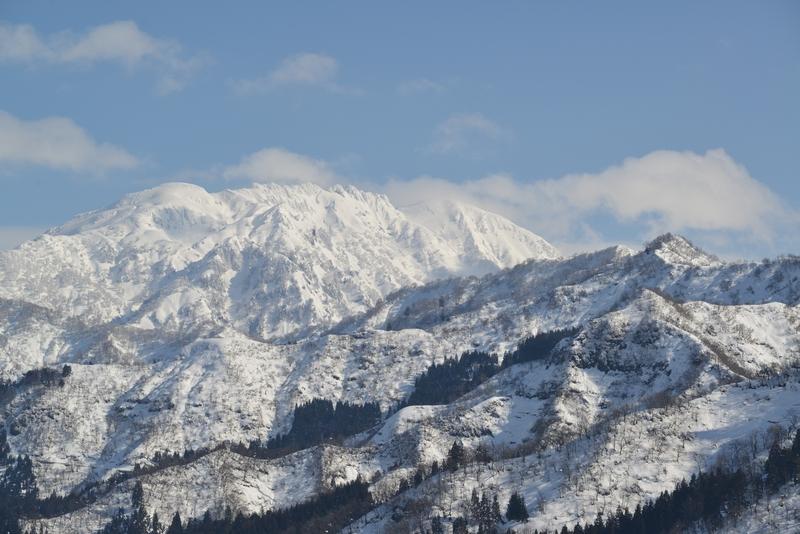 雪の八海山-1