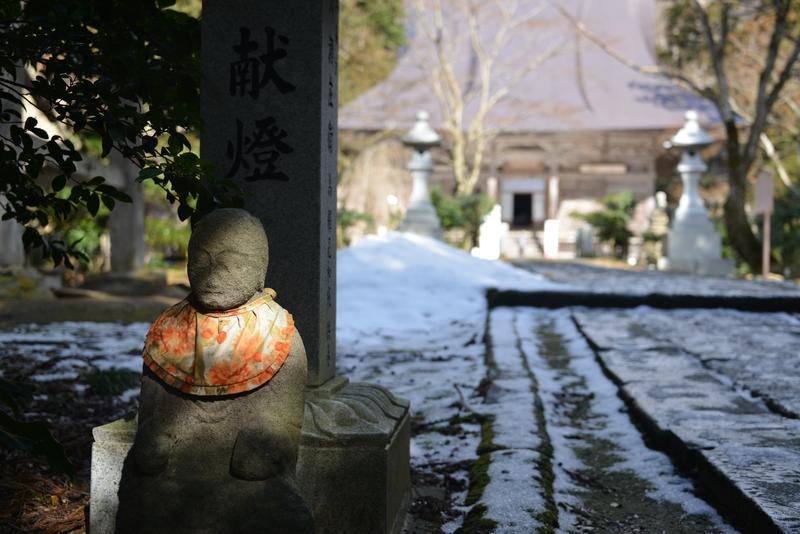 冬の国上寺-1