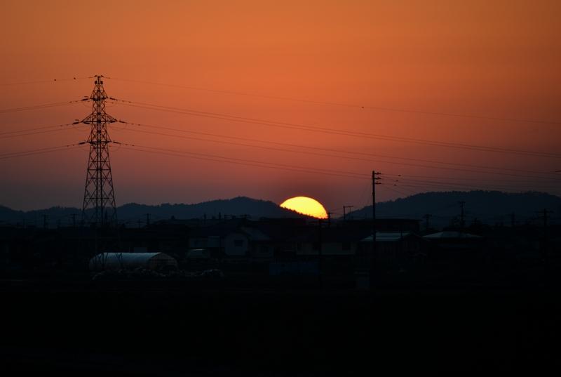 日が沈む-4