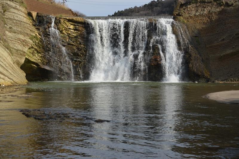 落ち水の滝-1
