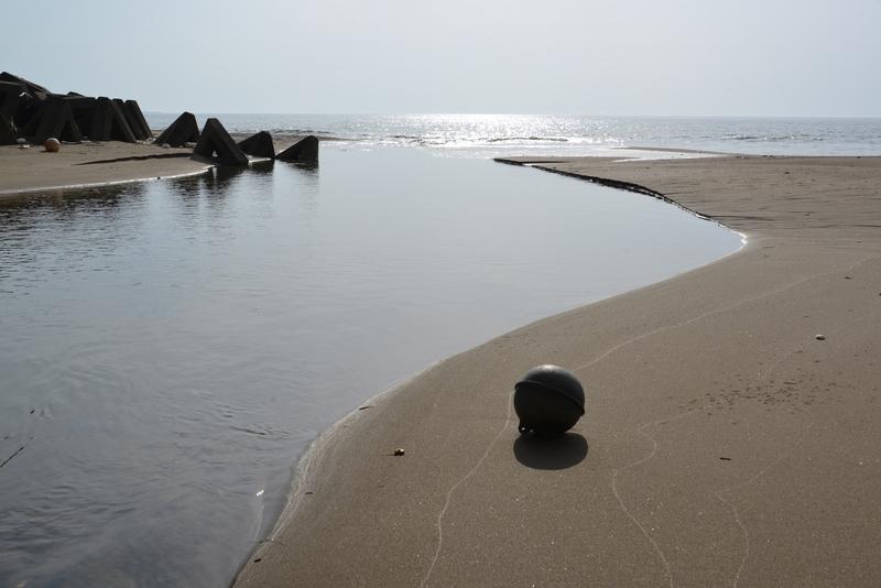 春の浜辺-2