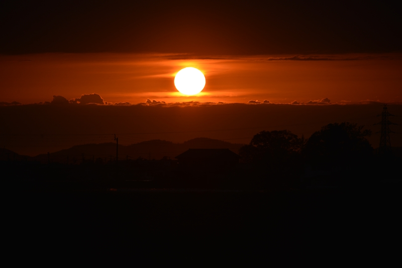 陽が沈む-2