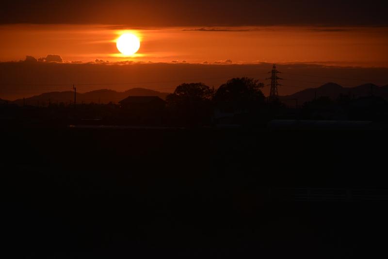 陽が沈む-3