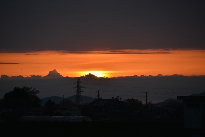 陽が沈む-1