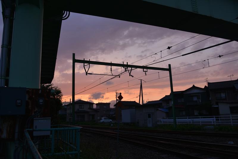 今日の夕焼け-2