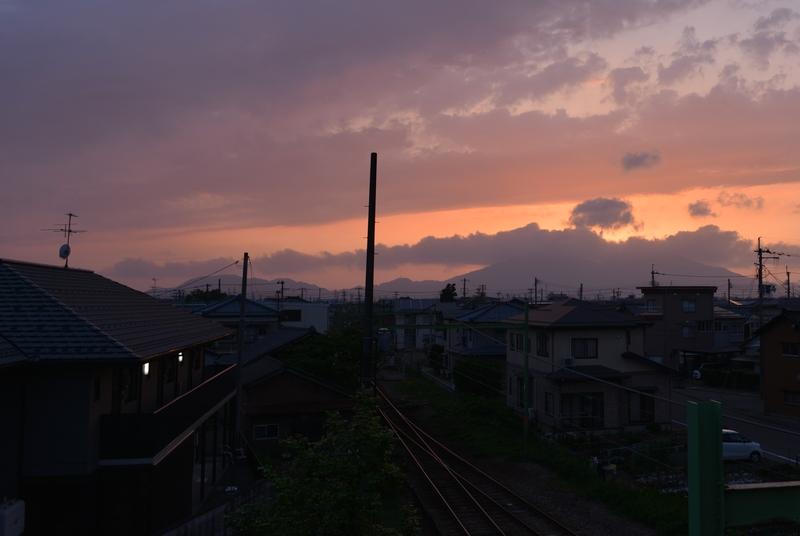 今日の夕焼け-4