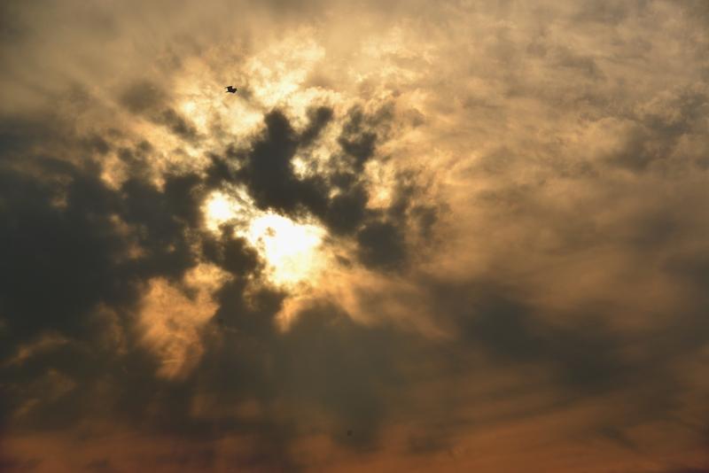 夕焼け 雲-1