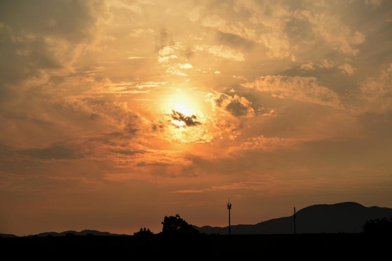 夕焼け 雲-2