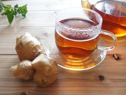 ショウガ紅茶