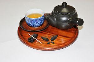 急須とお茶 - コピー