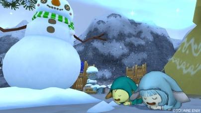 雪とうさぎはいいですねv