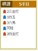 ポイントタウン、詰将棋の問題、6月24日(手順)