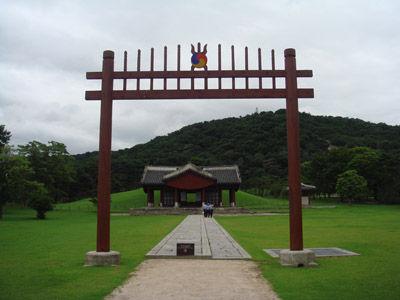 イ・ガクの墓 1