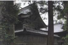 倭文神社・本殿