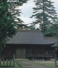 倭文神社・拝殿