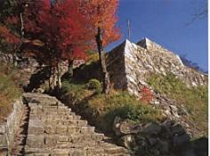 鳥取城・石垣