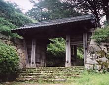 鳥取城・城門