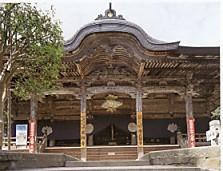 成相寺・本堂