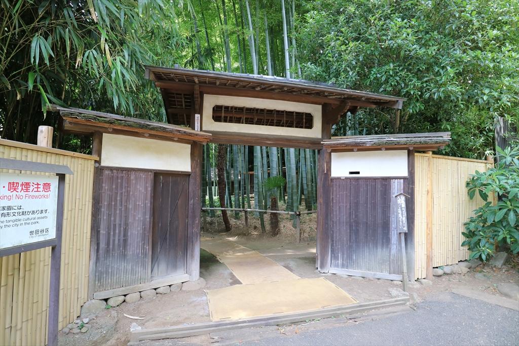 旧横尾家住宅椀木(うでぎ)門_1