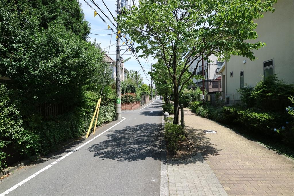 二子玉川駅までの道_2