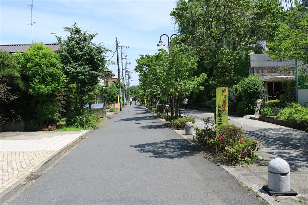 二子玉川駅までの道_4