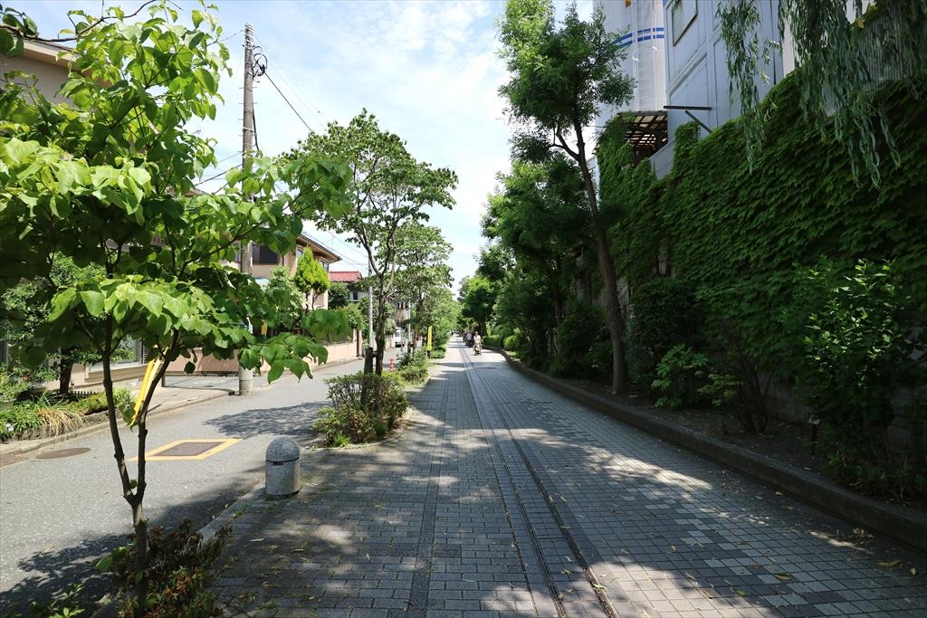 二子玉川駅までの道_6