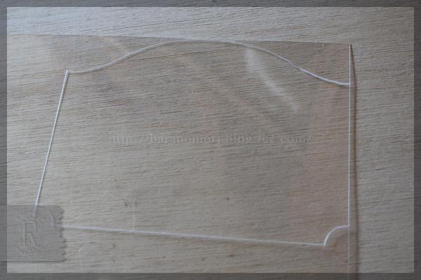 ネームタグ 名札 プラ板 20150330