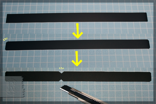 DIY クラフト クリアファイル ネームタグ 名札