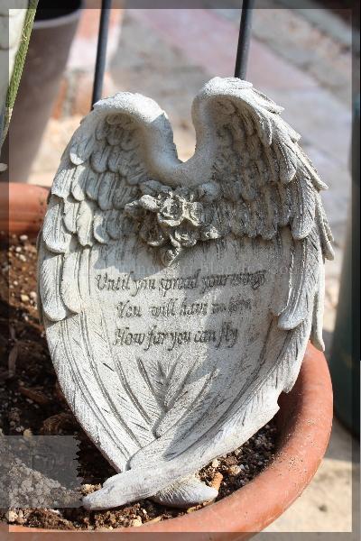 オブジェ 20150314 天使の羽 雑貨 ウィング